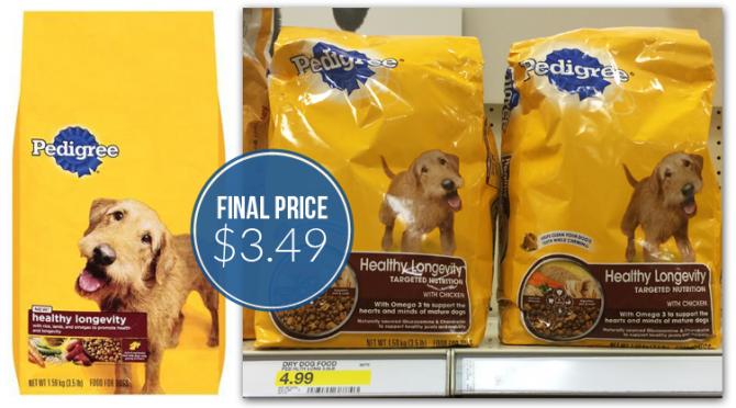 Pedigree Dog Food Target