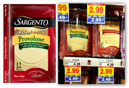 Sargento Natural Cheese Slices