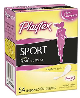 Playtex Sport Liner Slider