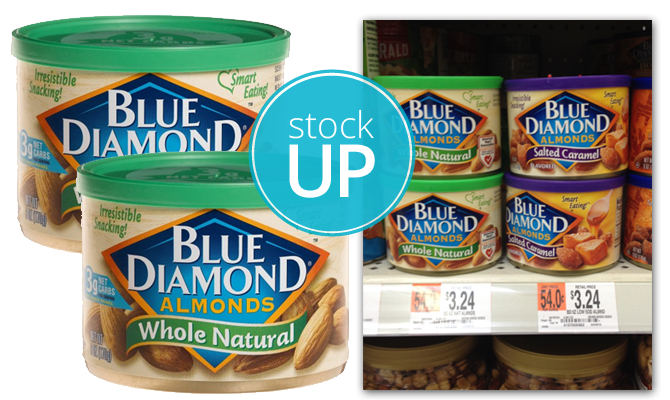 $1.00 Coupon! Blue Diamond Almonds, Only $2.74 at Walmart! - The ...
