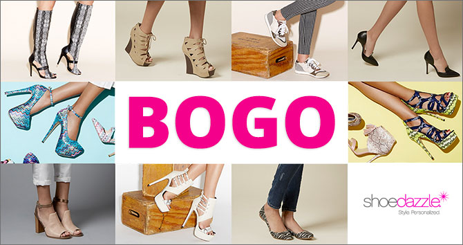 BOGO Free Shoes + Free Shipping!