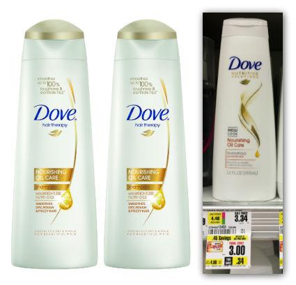 dove shampoo shoprite