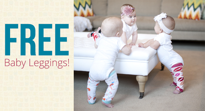 Baby Leggings: Five Free Pairs!