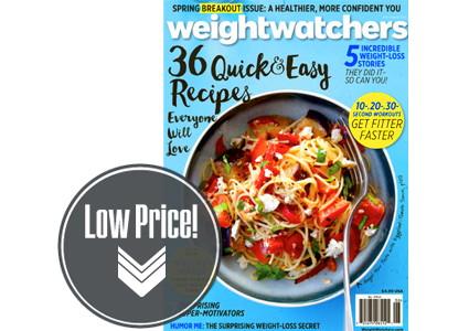 Weight Watchers Magazine, Only $0.83 per Issue!