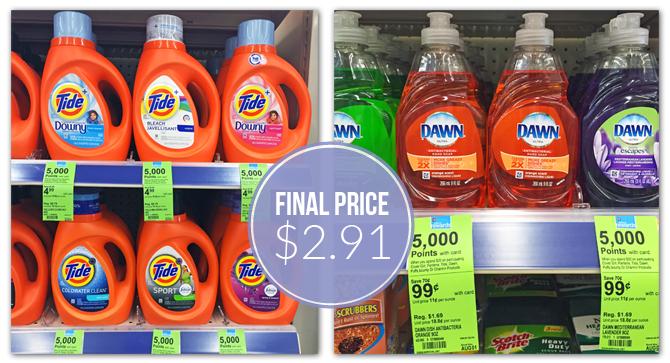 Reset Tide Coupon: $2.91 at Walgreens, Plus Free Dawn!