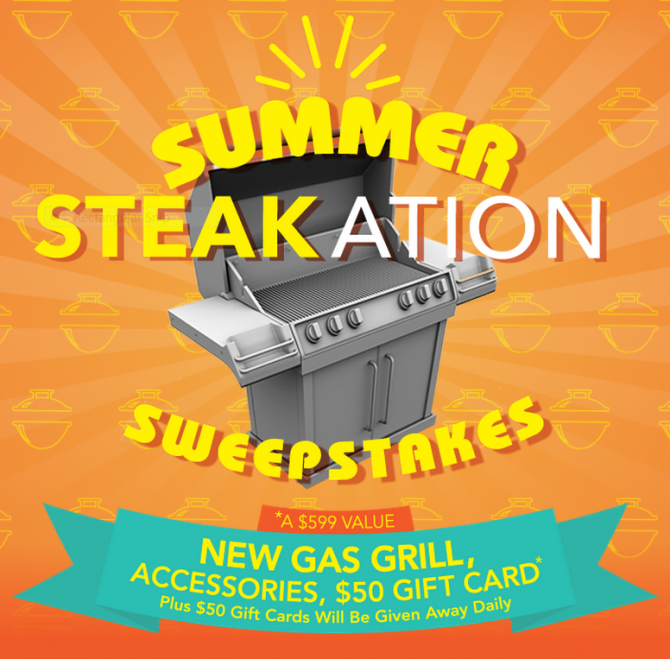 Summer Steakation Sweepstakes Coupon