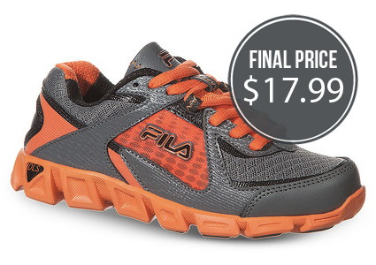 Kids' Fila Shoes, Starting at Under $18!