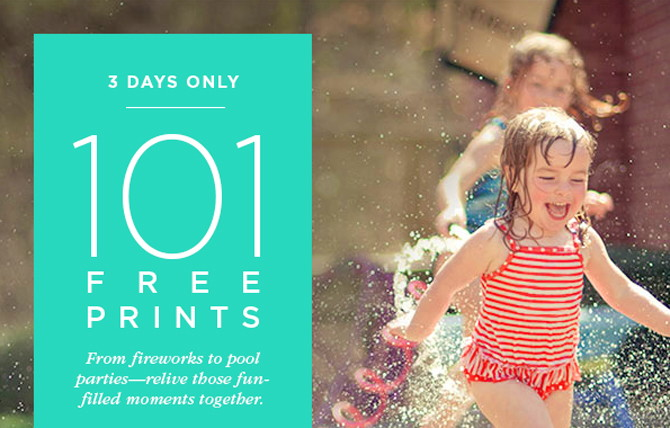 101 Free 4×6 Prints at Shutterfly!