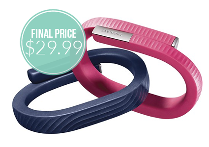 Low Price–Save $100 on Jawbone UP24 Wristband!