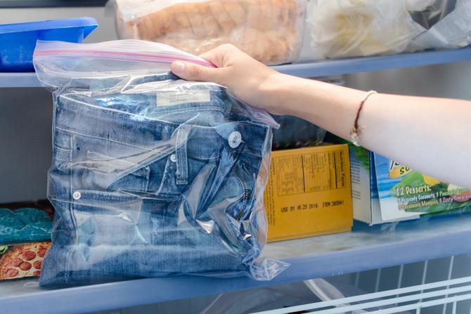 jeans-in-freezer
