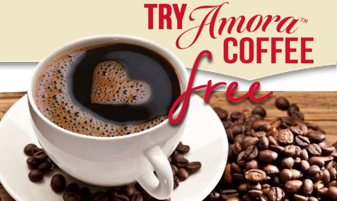 Free Bag of Amora Coffee!