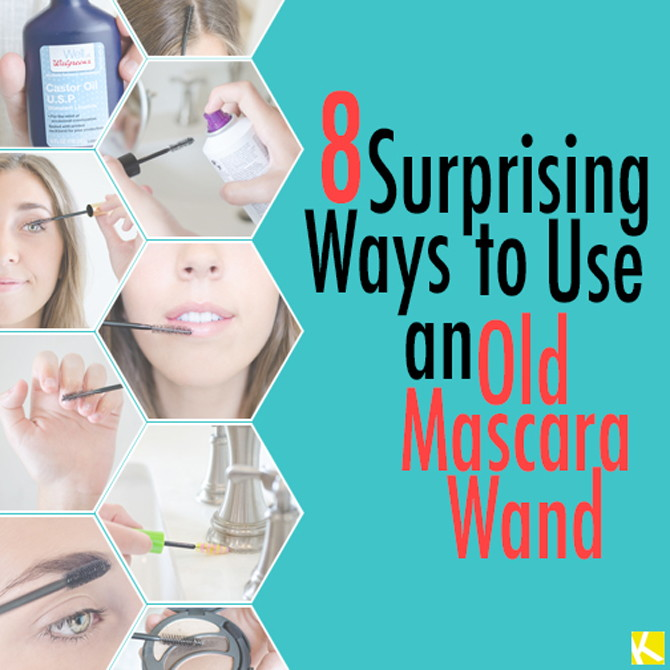 8 Surprising Ways to Use an Old Mascara Wand
