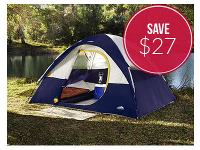Northwest Territory 4-Person Tent, Only $53!