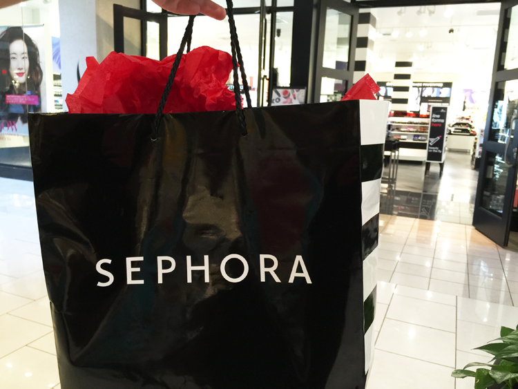 sephora stock up