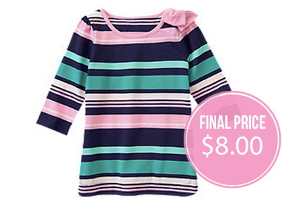 HOT! Gymboree: Free Shipping + Up to 70% off!