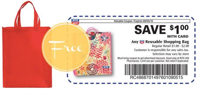 Free Reusable Shopping Bag at Rite Aid!