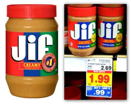 Jiffy peanut butter