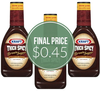 Kraft Barbecue Sauce, Only $0.45 at Dollar Tree!