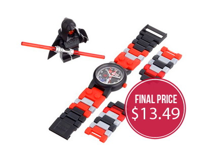 LEGO Star Wars Watch & Figurine, Only $13.49!