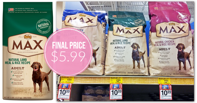 Nutro max dog coupons