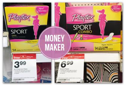 $2.03 Moneymaker Playtex Sport Liners at Target!