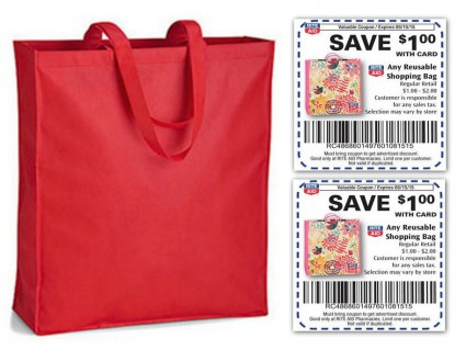 Free Reusable Shopping Bag at Rite Aid! - The Krazy Coupon Lady