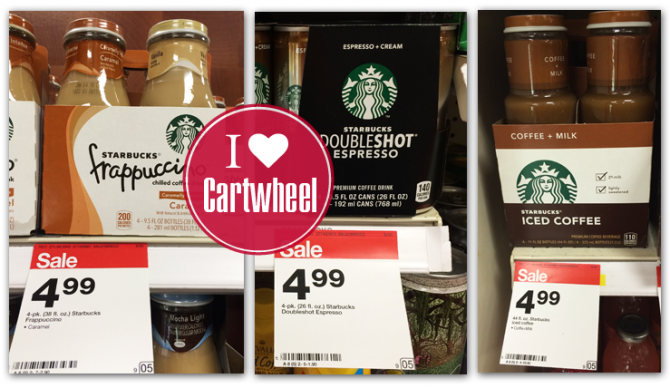 Starbucks Frappuccino Drinks, Only $0.81 Each at Target!