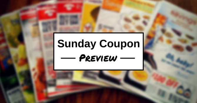 Sunday Coupon Preview: Week of 8/30
