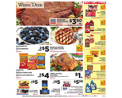 Winn-Dixie Coupon Deals: Week of 8/19