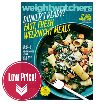 Weight Watchers Magazine, Only $0.83 per Issue!