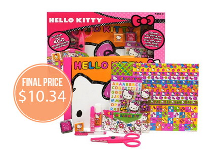 Hello Kitty All-in-One Scrapbook, Just $10.34!