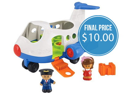 Hurry! Fisher-Price Little People Airplane, Just $10.00!