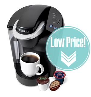 Low Price–Keurig Elite Single Serve Coffeemaker, Only $89!