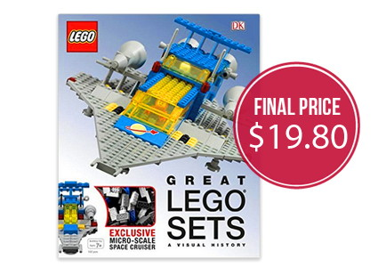 Pre-Order Great LEGO Sets Book, 51% off!