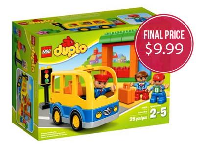 LEGO Duplo School Bus Set, 50% Off–Only $9.99!