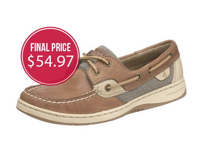 Women's Sperry Top-Sider Shoes, Only $54.97!