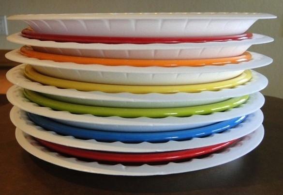 styrofoam-plates