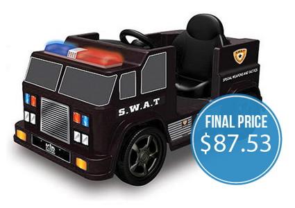 GONE: Kid Motorz SWAT Ride-On Car, Only $87.53!