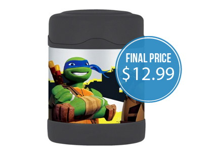 Ninja Turtles Thermos Food Jar, Only $12.99 at Amazon!