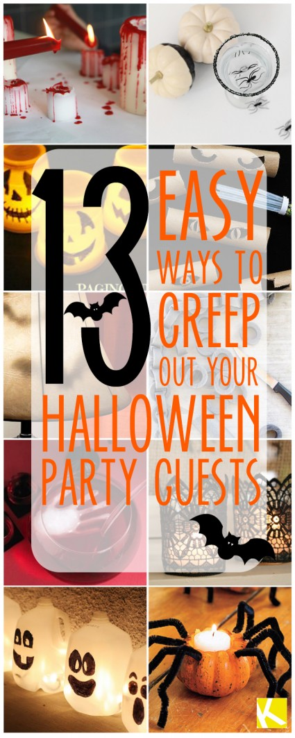 13 Creepy Ways To Decorate Your Home For Halloween The
