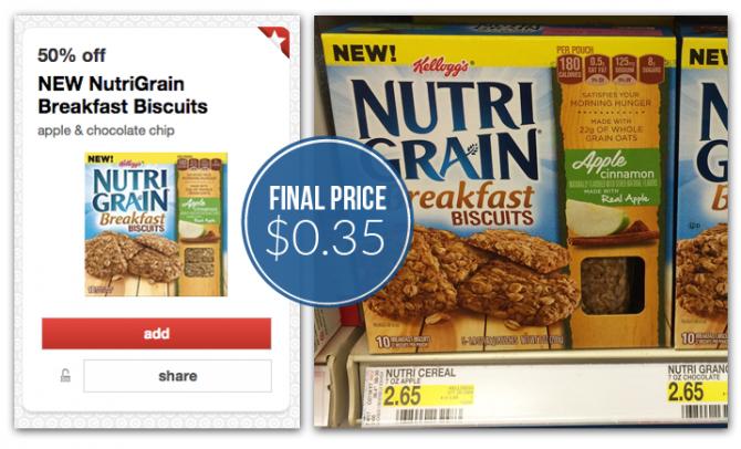 Nutri Grain Nutri-grain Breakfast Biscuits