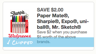 Paper-Mate Coupon