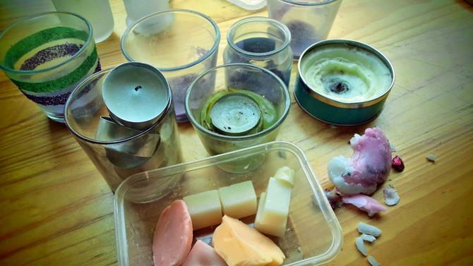 candle-wax