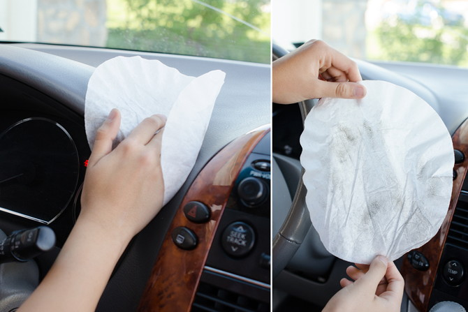 11 amazing hacks to keep your car clean and organized the krazy coupon lady. Black Bedroom Furniture Sets. Home Design Ideas