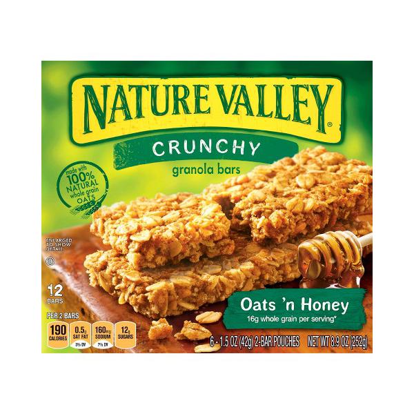 Is Nature Valley Crunchy Granola Bars Gluten Free
