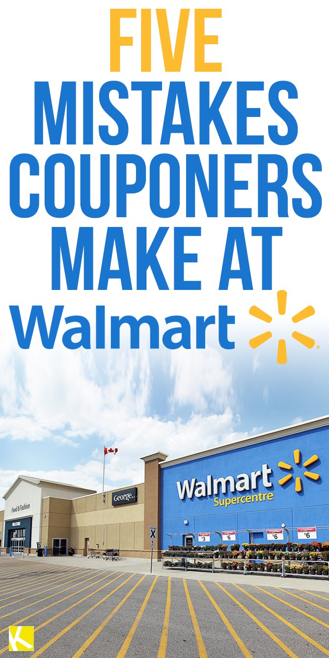 Mistakes couponers make at walmart the krazy coupon lady