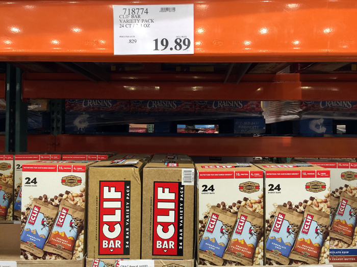 iu0027m saving space in my costco cart by buying grownup clif bars same price on amazon with subscribe u0026 save - Costco