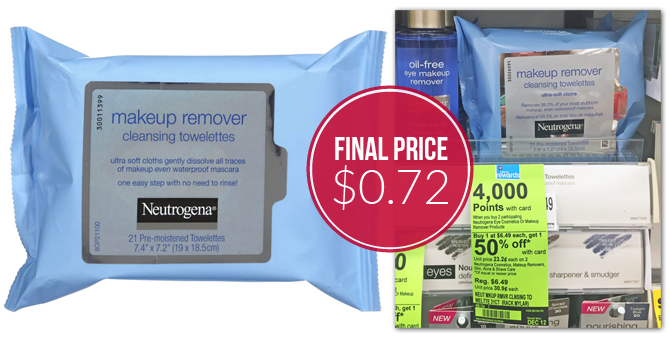 Neutrogena makeup remover wipes