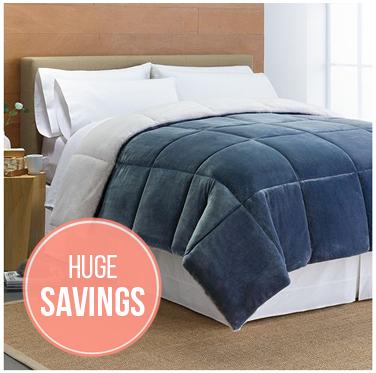 save 64% on cuddl duds down-alternative comforter! - the krazy