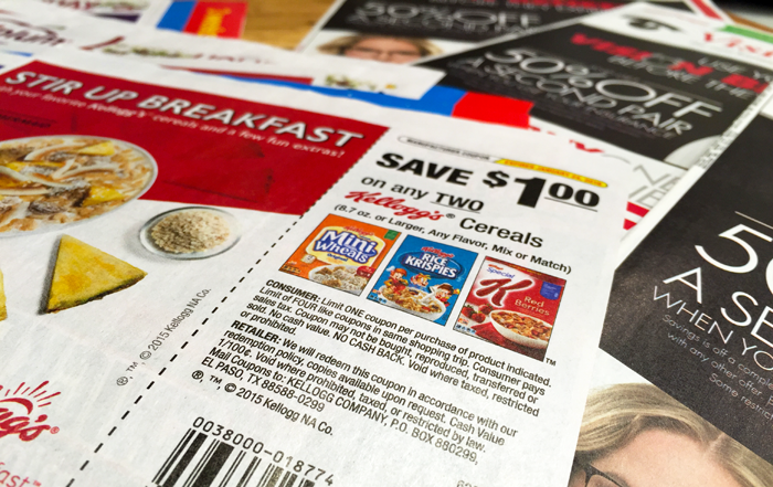 How To Get Newspaper Coupons Every great chef keeps a well stocked pantry, including the basics, like flour and sugar, as well as those rare ingredients and secret spices. So, too, the great savers keep a well stocked pantry of coupons.
